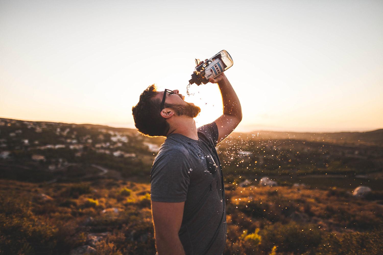 连续喝水30天